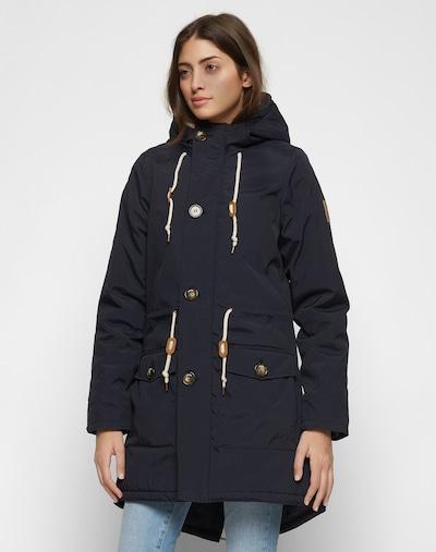 Derbe Zimska jakna 'Festland Friese' | modra / mornarska barva: Frontalni pogled