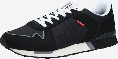 LEVI'S Baskets basses 'WEBB' en noir / blanc, Vue avec produit