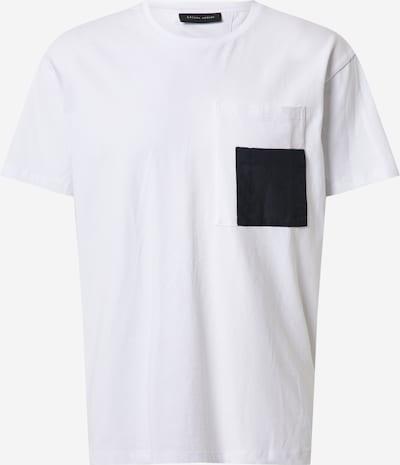 Casual Friday T-Shirt in schwarz / weiß, Produktansicht