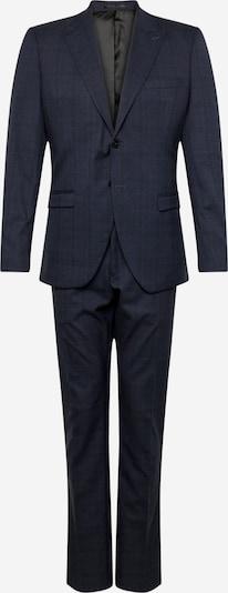 SELECTED HOMME Anzug 'SLHSLIM-LEEDLOGAN GREEN CHECK SUIT B' in dunkelgrün, Produktansicht