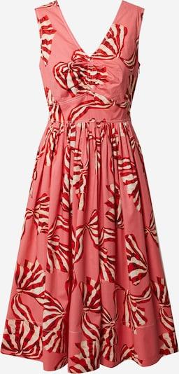 L.K.Bennett Kleid  'DR CANDICE' in pink / knallrot, Produktansicht