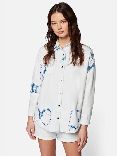 Mavi Hemd  'BLANCA' in weiß, Modelansicht