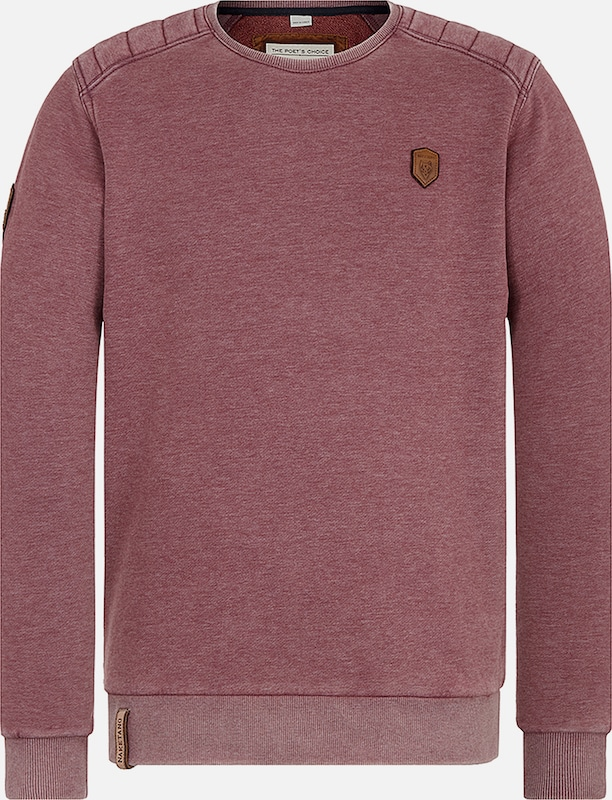 'first Blood' Naketano Sweat Bordeaux shirt En XZTkiPuO