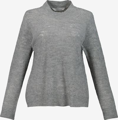 Studio Untold Pullover 'Ajour' in grau: Frontalansicht