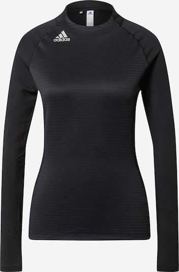 adidas Golf Sport-Shirt in schwarz / weiß, Produktansicht