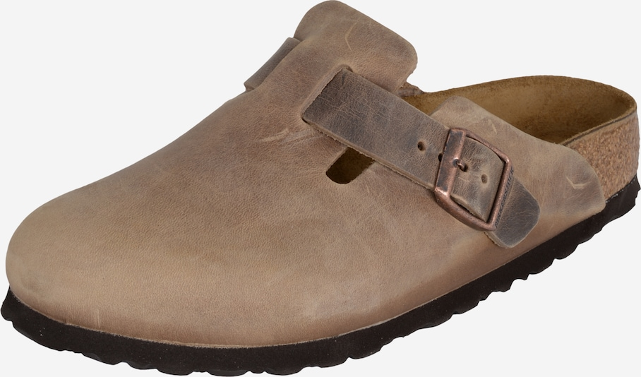 BIRKENSTOCK Clogs 'Boston' in braun, Produktansicht