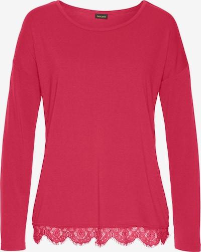 Bluză de noapte LASCANA pe roșu cranberry, Vizualizare produs