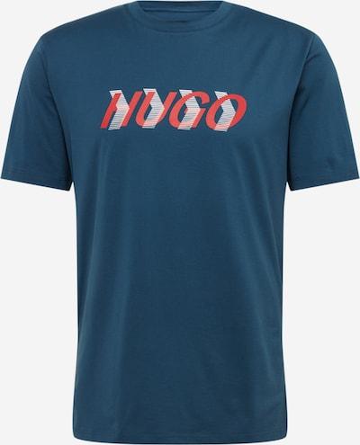 HUGO T-Krekls 'Dicagolino_LP3' pieejami zils, Preces skats