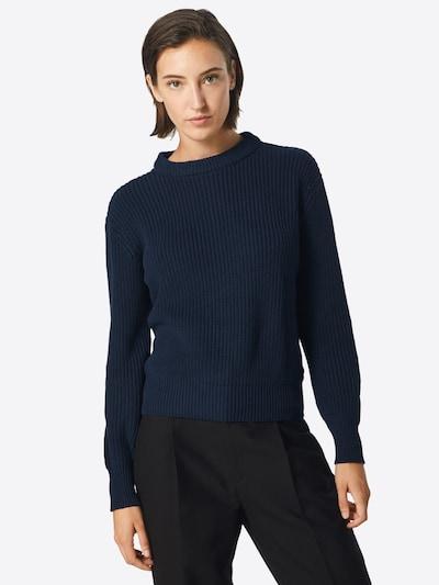 minimum Pullover 'Mikala' in navy, Modelansicht