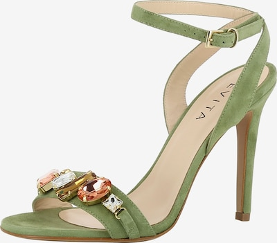 EVITA Sandalette 'Eva' in oliv, Produktansicht