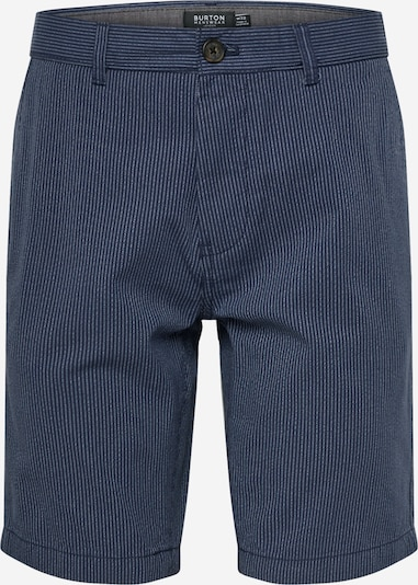 BURTON MENSWEAR LONDON Shorts 'NVY FINE STRIPE SHRT' in blau, Produktansicht