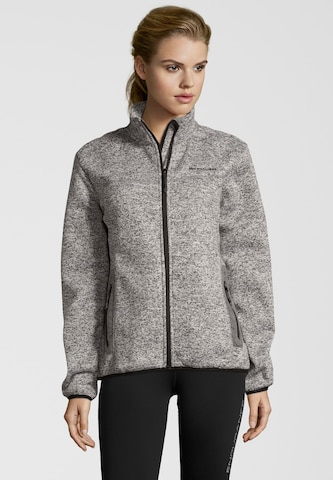 Whistler Athletic Fleece Jacket 'Lagi' in Grey