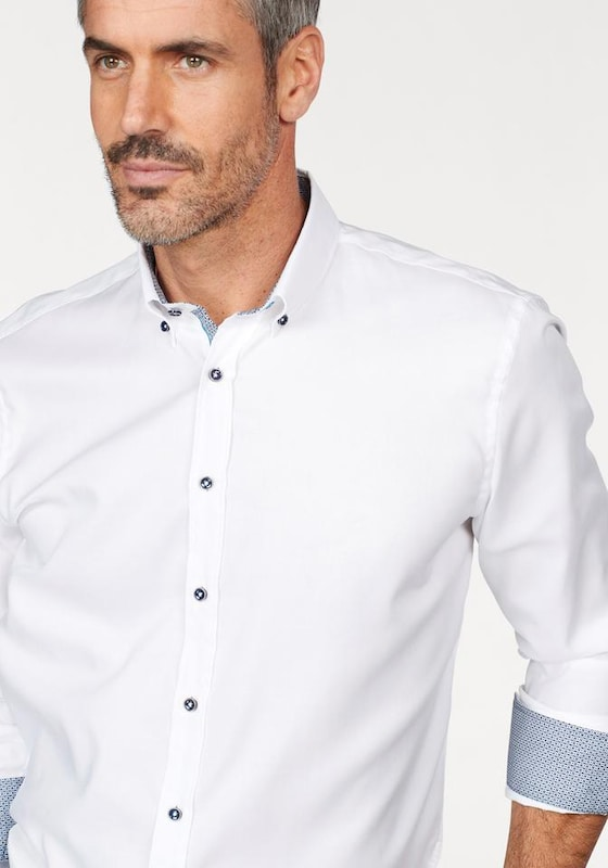 bugatti Langarmhemd