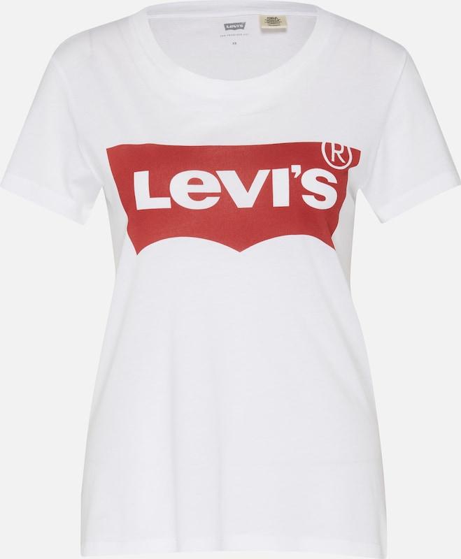 Batwing' Levi's Tee En RougeBlanc T shirt 'the Perfect Large qMLSzVGjUp