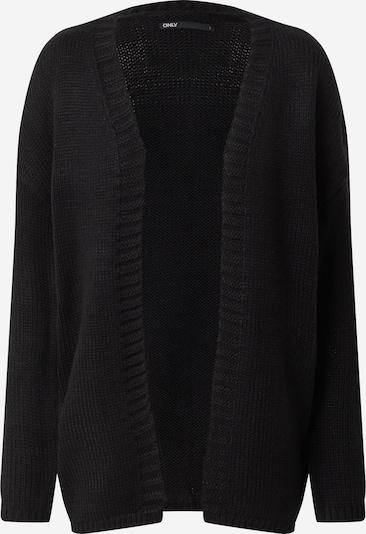 Geacă tricotată 'Lexi' ONLY pe negru: Privire frontală