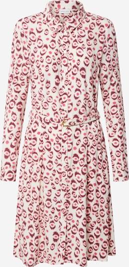 Fabienne Chapot Sukienka koszulowa 'Hayley' w kolorze kremowy / ciemnoróżowy / bordowym: Widok z przodu