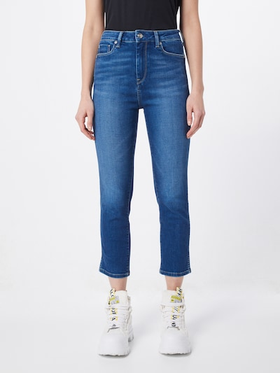 Pepe Jeans Jeans 'Dion 7/8' in blue denim, Modelansicht