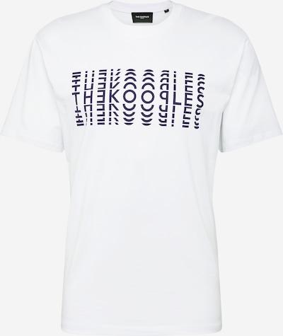 The Kooples T-Shirt 'TSHIRT' en bleu foncé / blanc, Vue avec produit
