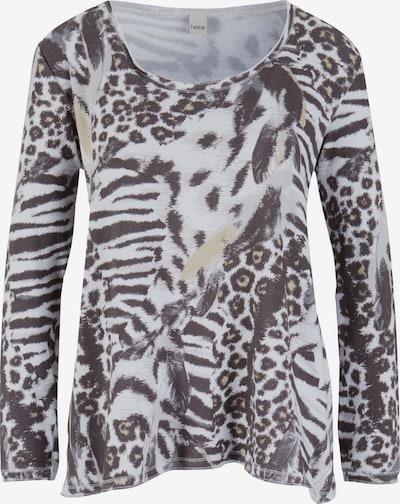 heine Koszulka w kolorze jasnoszary / offwhitem, Podgląd produktu