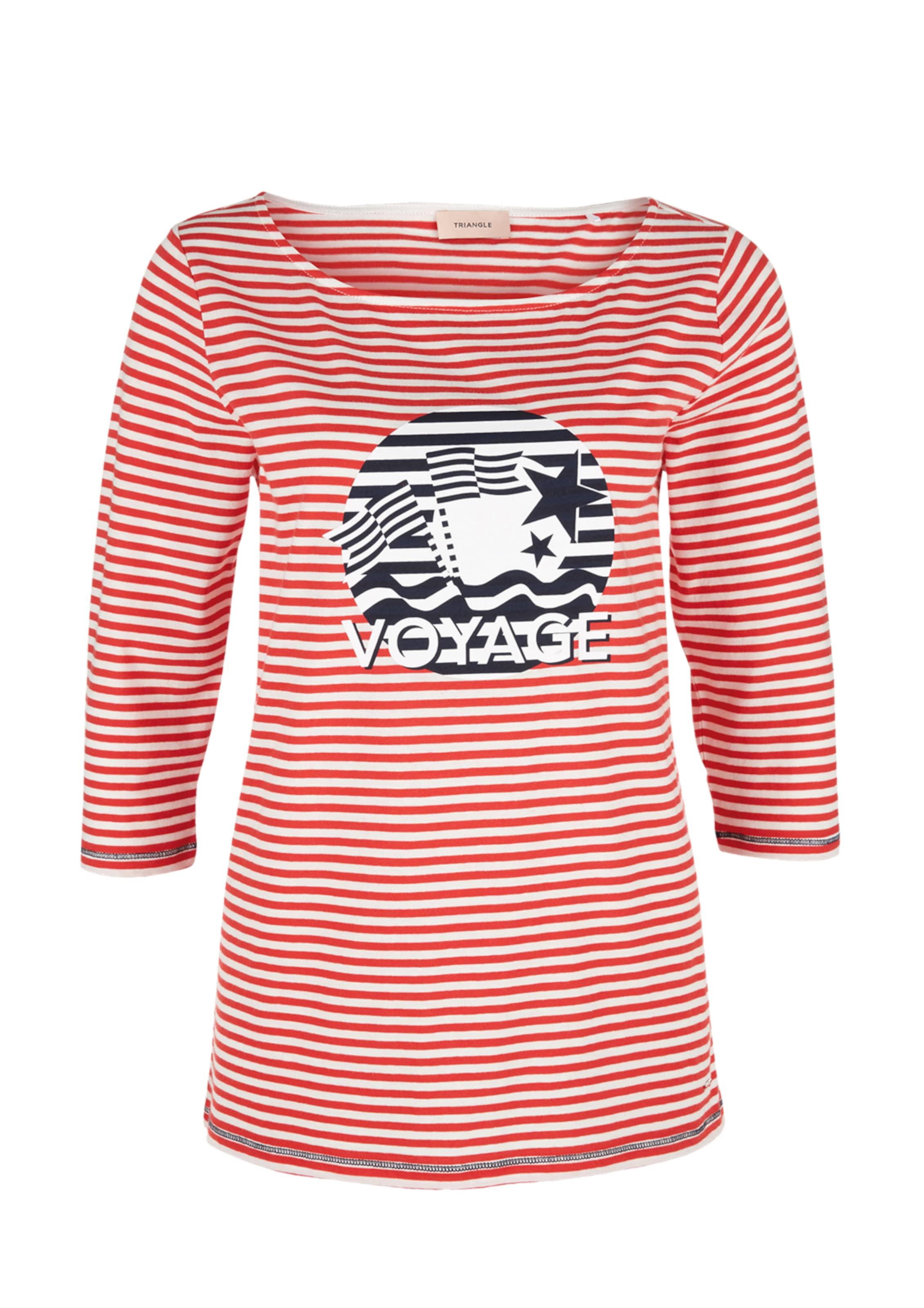 Shirt RotSchwarz Triangle In Triangle Triangle Shirt Weiß RotSchwarz In Shirt In Weiß NnX8ZOP0wk