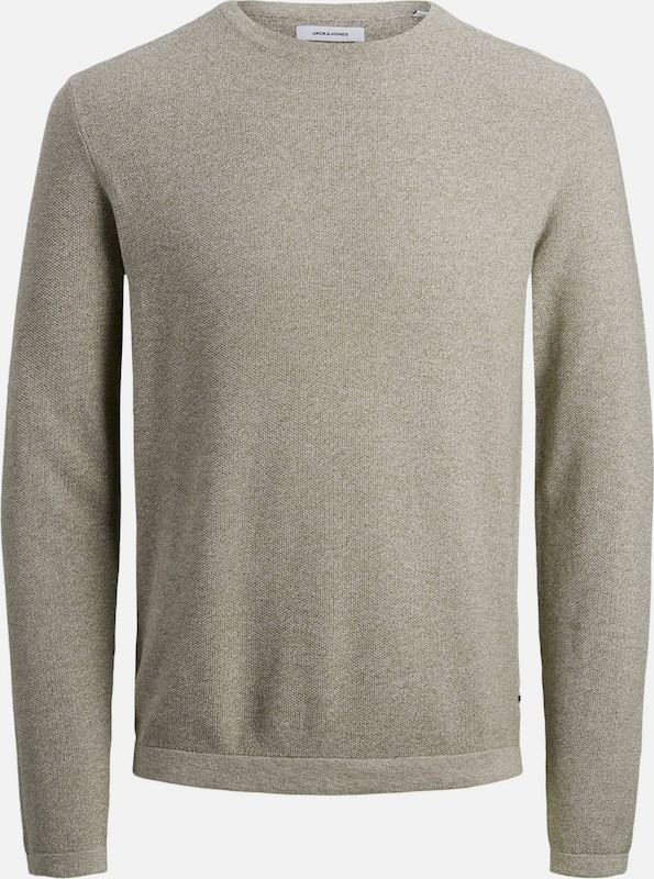 JACK & JONES Pullover in khaki, Produktansicht
