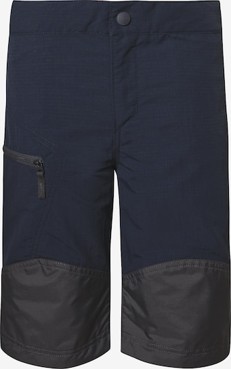 VAUDE Outdoorshorts 'Caprea' in nachtblau / schwarz, Produktansicht