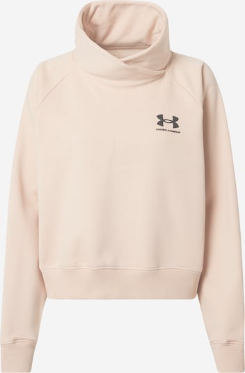 UNDER ARMOUR Sport sweatshirt 'Rival' i puder, Produktvy
