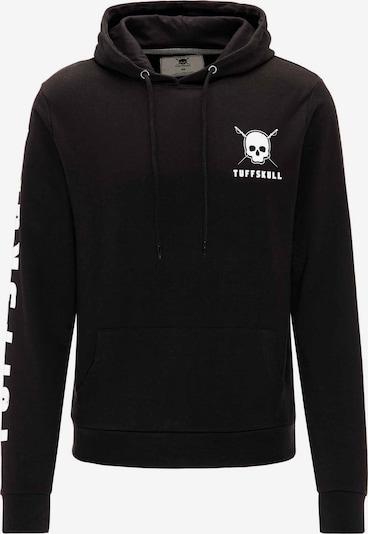 TUFFSKULL Hoodie in schwarz, Produktansicht