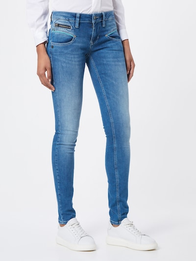 FREEMAN T. PORTER Jeans 'Alexa' in blau, Modelansicht