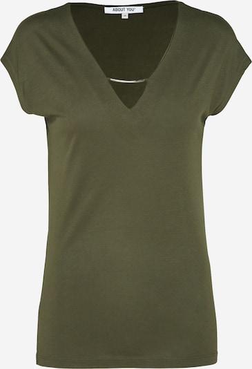 ABOUT YOU Shirt 'INKA' in khaki / dunkelgrün, Produktansicht