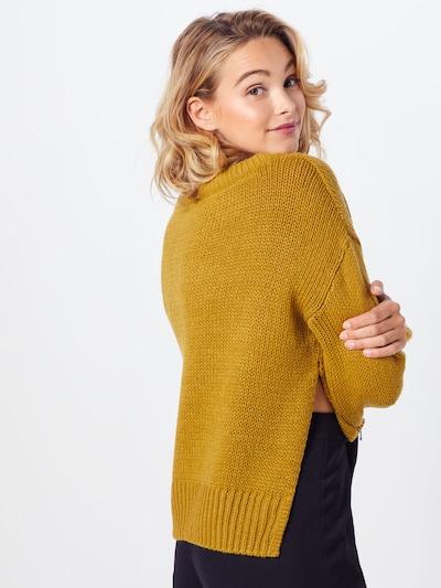 Noisy may Sweter 'VERA' w kolorze musztardowym: Widok od tyłu