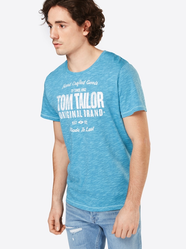 Tom Tailor T-shirt In Flammgarn-optik