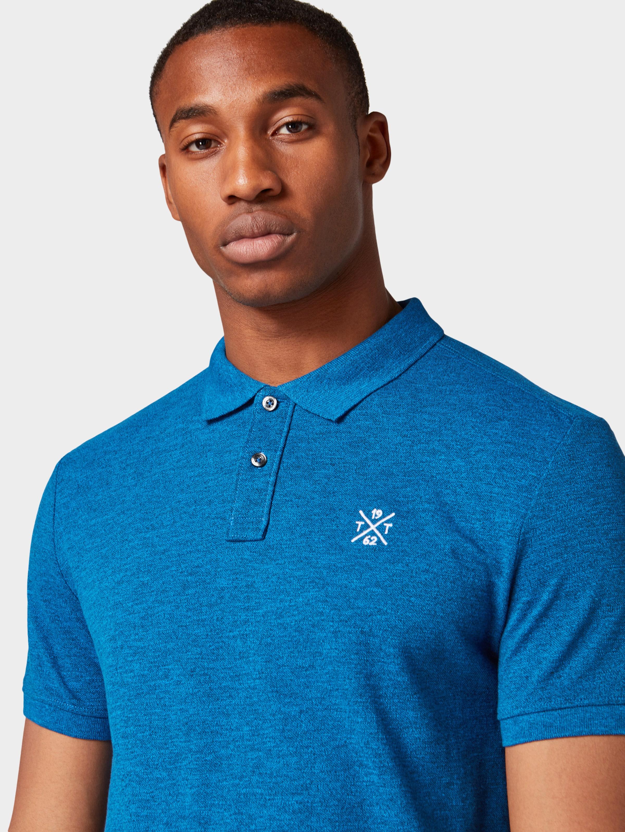 Poloshirt Poloshirt In Tom Tailor Blaumeliert Tom Blaumeliert Tom Tailor In reodxBC