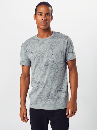 ESPRIT Shirt 'MLA-030EE2K304' in grau / dunkelgrau: Frontalansicht