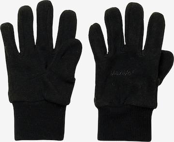 MAXIMO Fingerhandschuhe in Schwarz