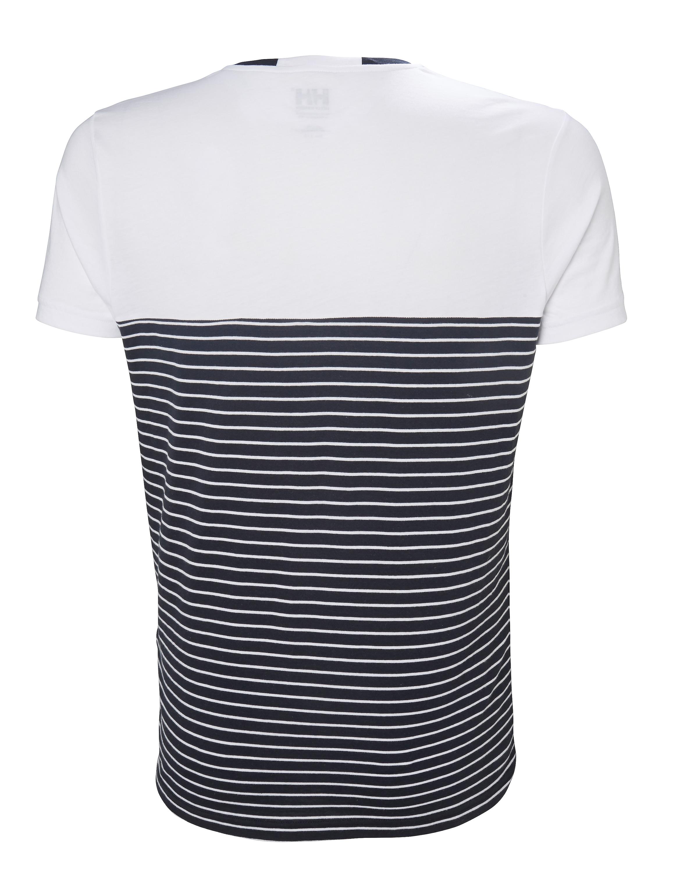 shirt In Hansen T HellbeigeNachtblau 'fjord' Helly Weiß FclJTK31