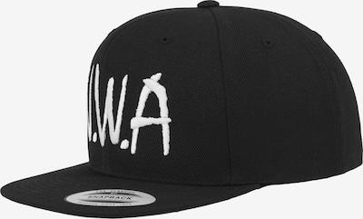 Mister Tee Cap  'N.W.A' in schwarz / weiß, Produktansicht