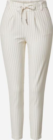 Pantaloni ONLY pe maro / alb, Vizualizare produs