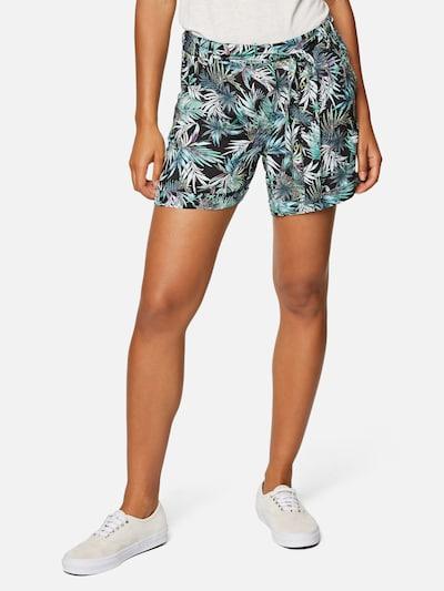 Mavi Shorts in blau / türkis / schwarz / weiß, Modelansicht