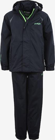 ZigZag Regenanzug 'Ophir' in schwarz, Produktansicht