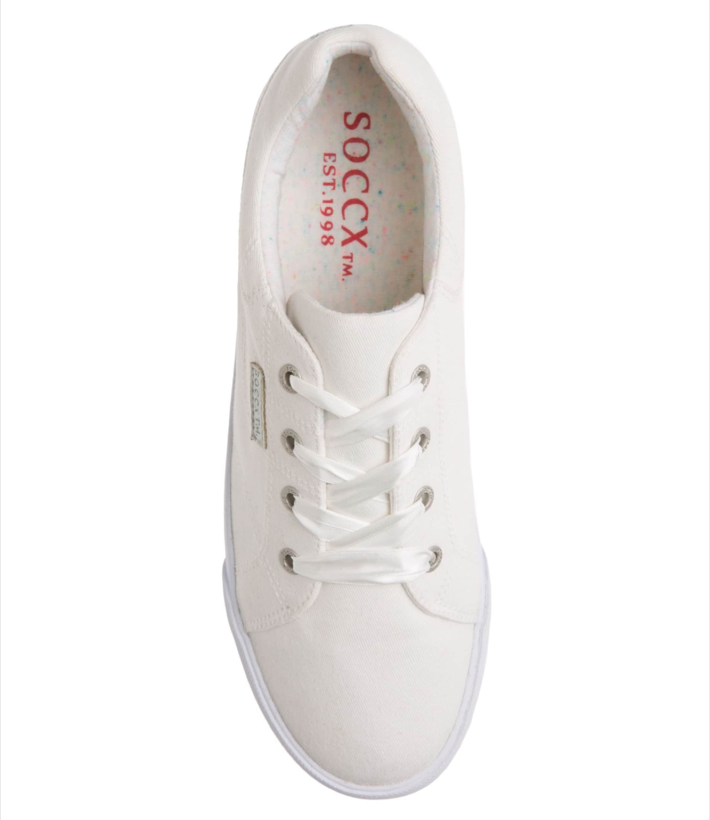 Sneaker In Weiß Soccx Sneaker In Weiß Weiß Soccx In Soccx Soccx Sneaker ulFT5K1c3J