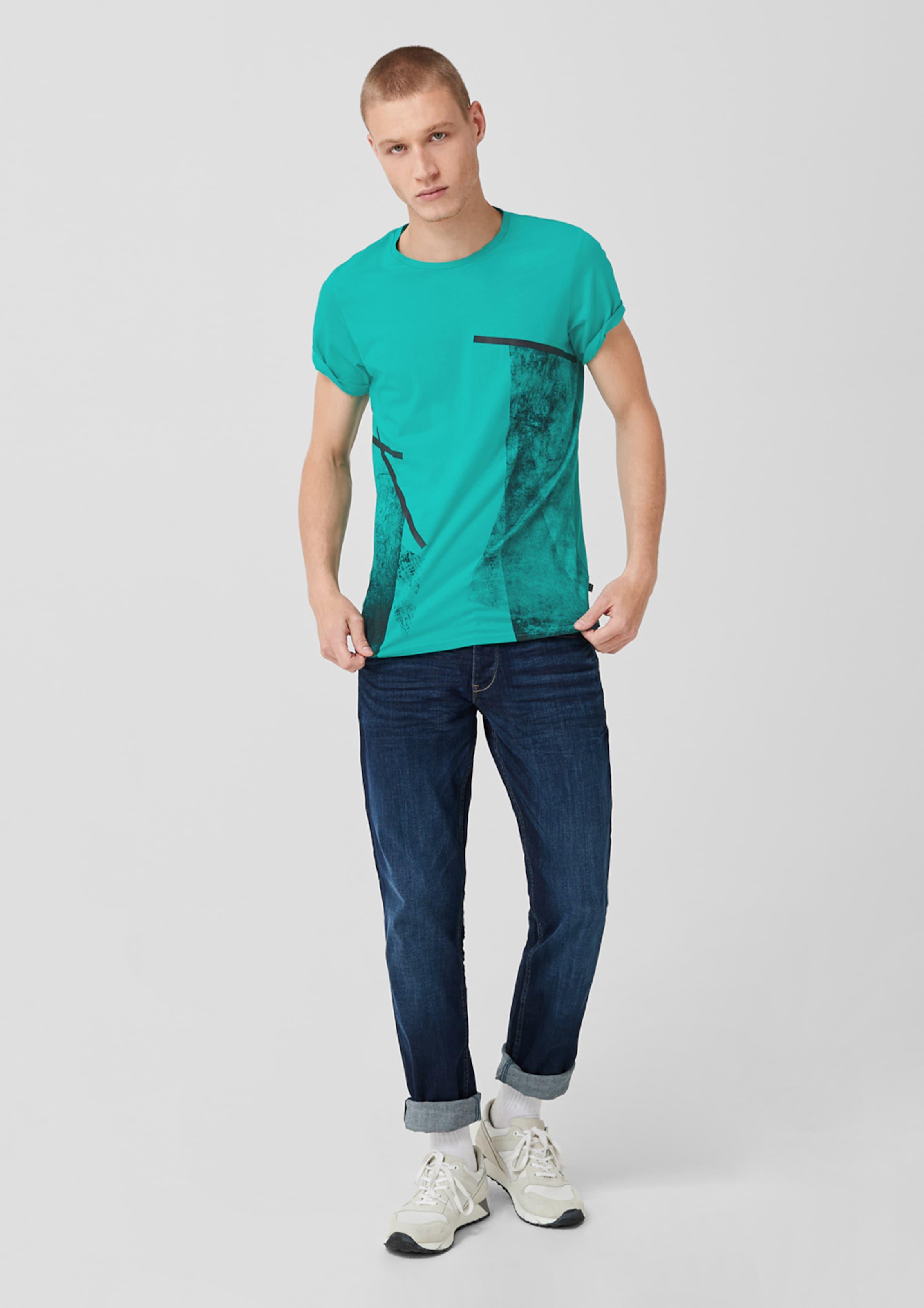 Mit Türkis Q In Designed By shirt T Frontprint s mOyN0Pn8vw