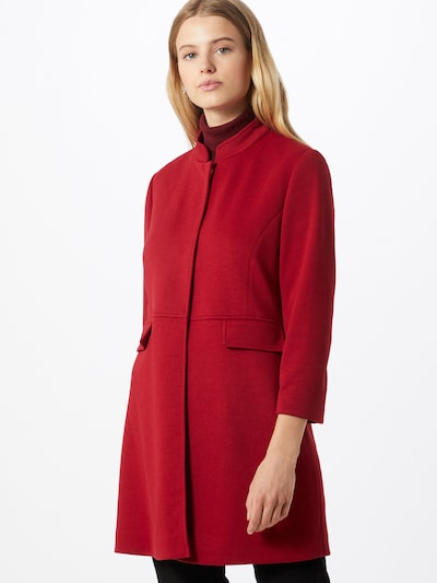 COMMA Přechodný kabát - tmavě červená, Model/ka