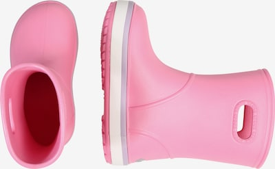 Crocs Bottes en caoutchouc 'Crocband Rain K' en rose: Vue de profil