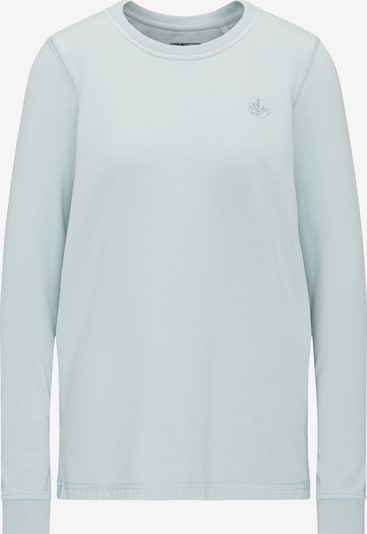 DREIMASTER Sweat-shirt en bleu pastel: Vue de face