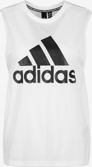 ADIDAS PERFORMANCE Top in schwarz / weiß, Produktansicht