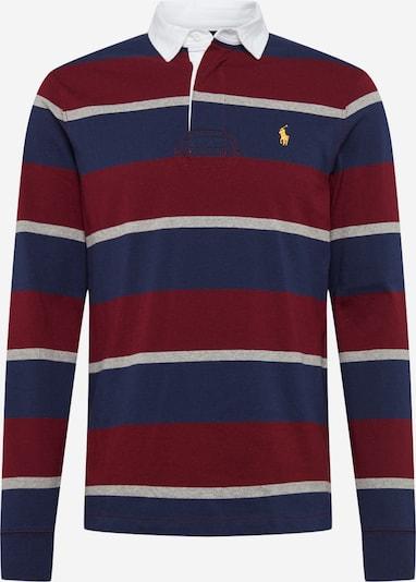 POLO RALPH LAUREN Shirt in de kleur Blauw / Wijnrood / Wit, Productweergave