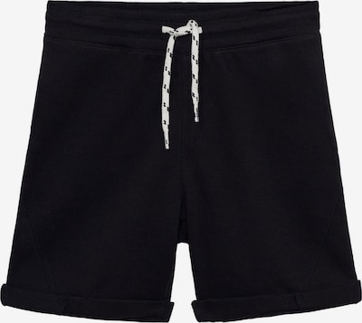 MANGO KIDS Hlače 'JOEL' | črna barva, Prikaz izdelka