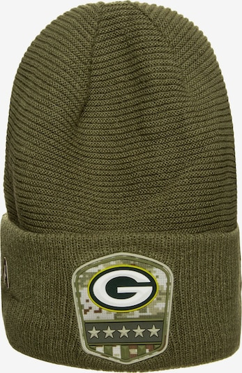 NEW ERA Muts 'NFL Green Bay Packers' in de kleur Kaki, Productweergave
