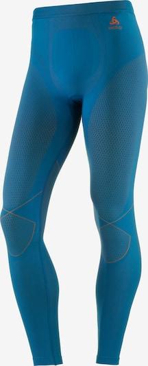 ODLO 'Evolution WARM' Funktionsunterhose Herren in blau / dunkelorange, Produktansicht